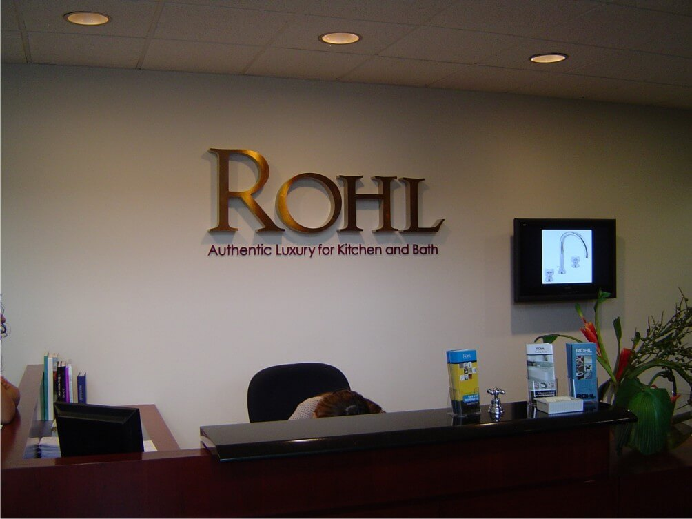 Rohl Interior Company Sign