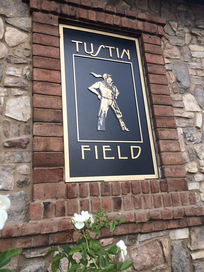 Tustin Field Wall Plaque