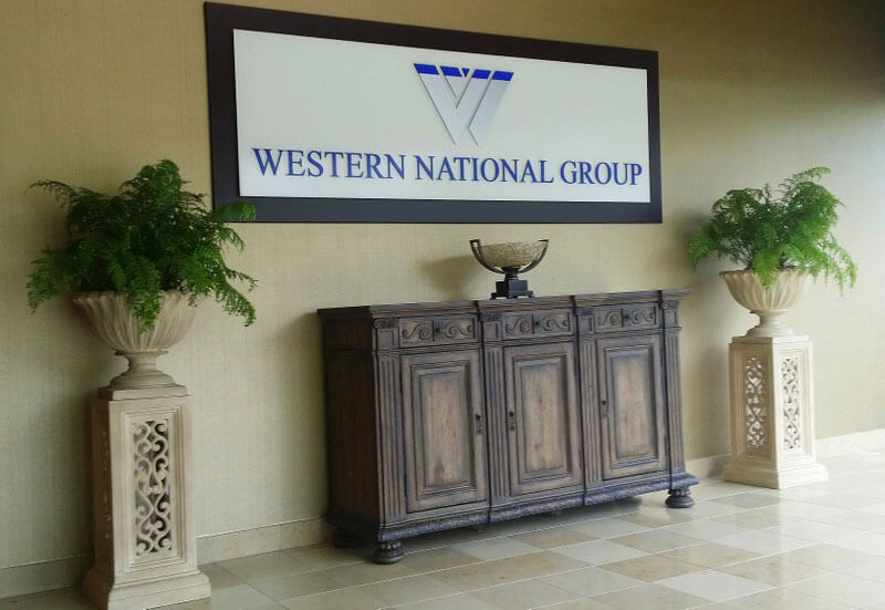 Western National Group Lobby