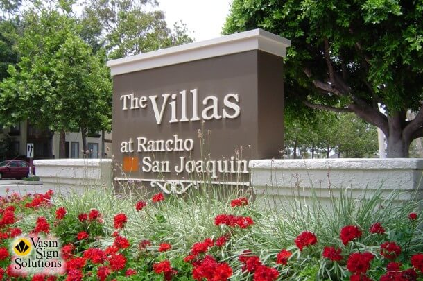 Villas Monument Sign